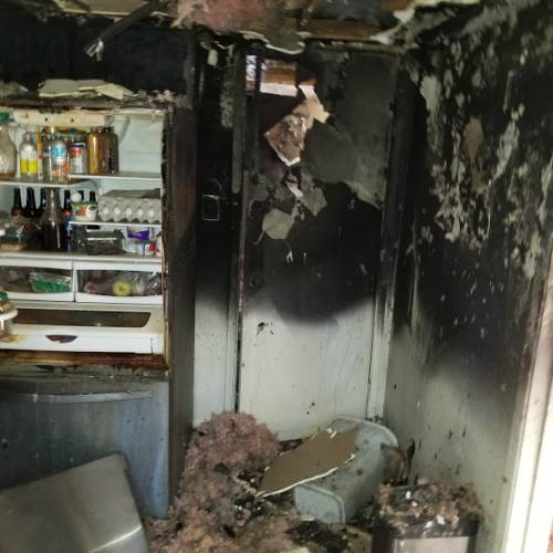 Go To Services Restores Kitchen Fire Damage in Phoenix