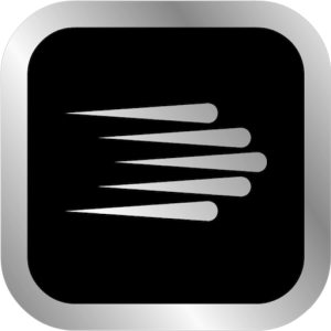 black and silver logo for Go To Services, Inc