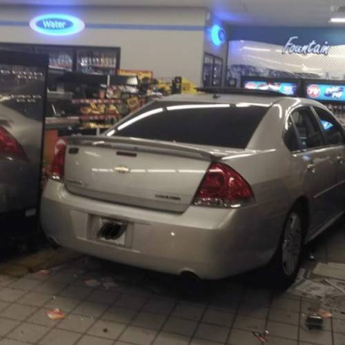 Car Smashes Circle K, Go To Services Performs Emergency Cleanup…Coffee Served By 4 AM