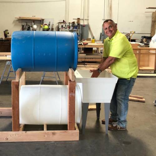 Portable Hand Washing Stations in the Works for Home Builders